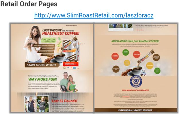 Slimroast retail lap